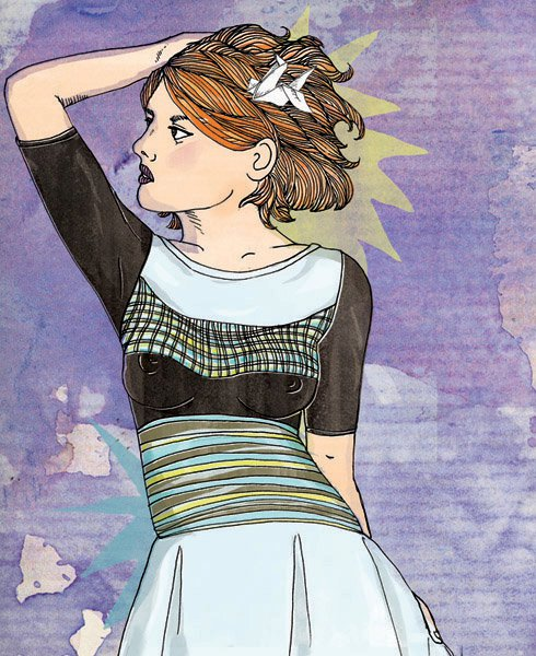 Amelia's Compendium of Fashion Illustration - From Somewhere