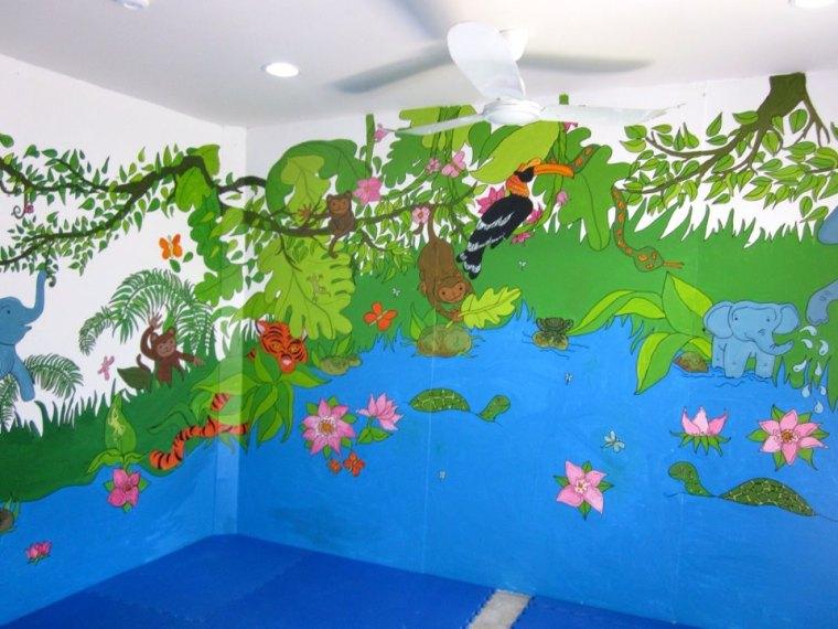Songsaa island mural painting