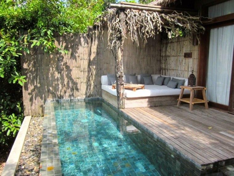 Infinity pool balcony songsaa island