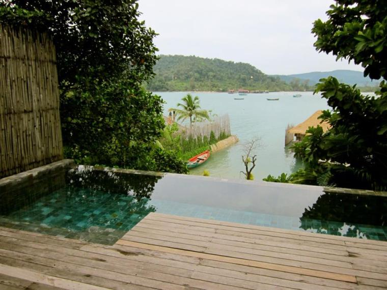 View from Songsaa Island infinity pool