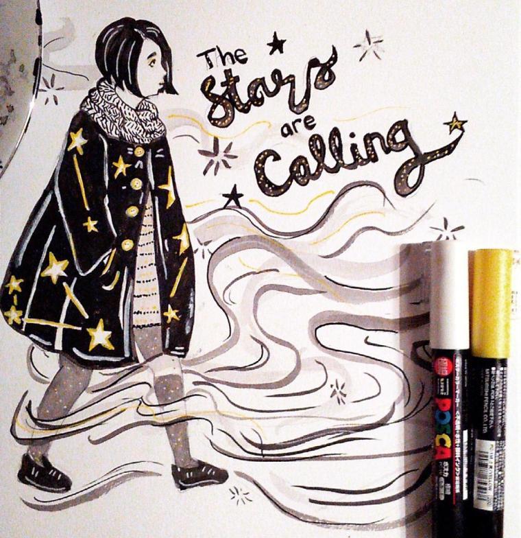 starsarecalling-inktober-2016