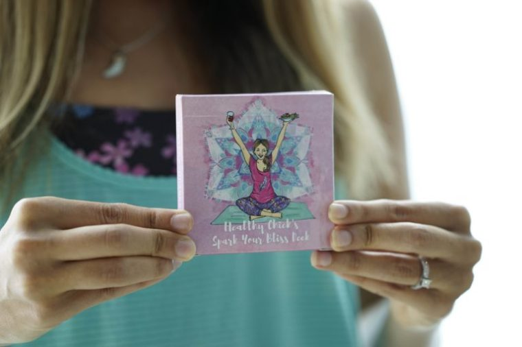 Healthy Chicks Affirmation Cards Product Shot